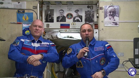 Русские космонавты выйдут насвязь спользователями «ВКонтакте»