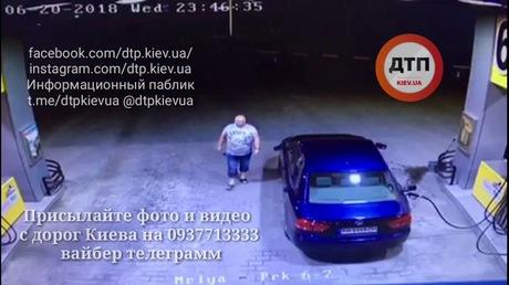 Под Киевом взорвалась АЗС: шофёр забыл вытянуть заправочный пистолет