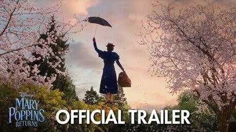 Трейлер мюзикла «Мэри Поппинс возвращается» опубликовали вweb-сети
