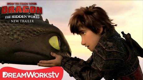 Винтернете был размещен трейлер мультфильма «Как приручить дракона-3»