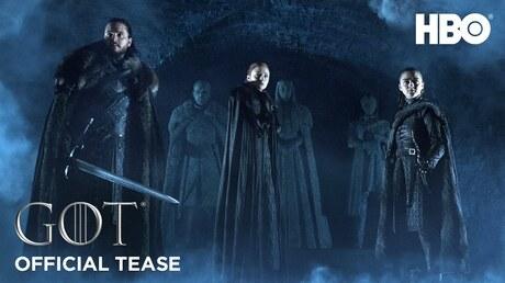 HBO назвал дату выхода последнего сезона «Игры престолов»
