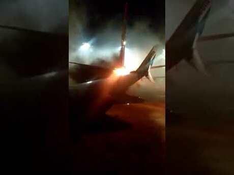 Два самолета столкнулись ваэропорту Торонто