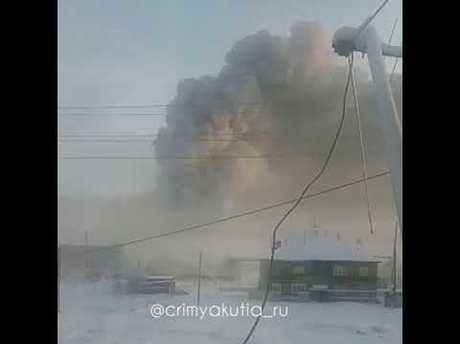 Висправительной колонии под Якутском произошел пожар
