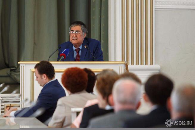 Следствие планирует допросить Тулеева по делу о вымогательстве акций на 1 млрд рублей