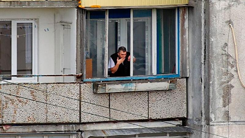 Видеокамеры, смотрящие в окна. о курении на балконе - белару.