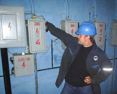 Энергоснабжение производится в полном объеме по штатной схеме.