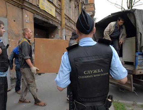 осторожно выселение из жилого помещения полиция Спят все