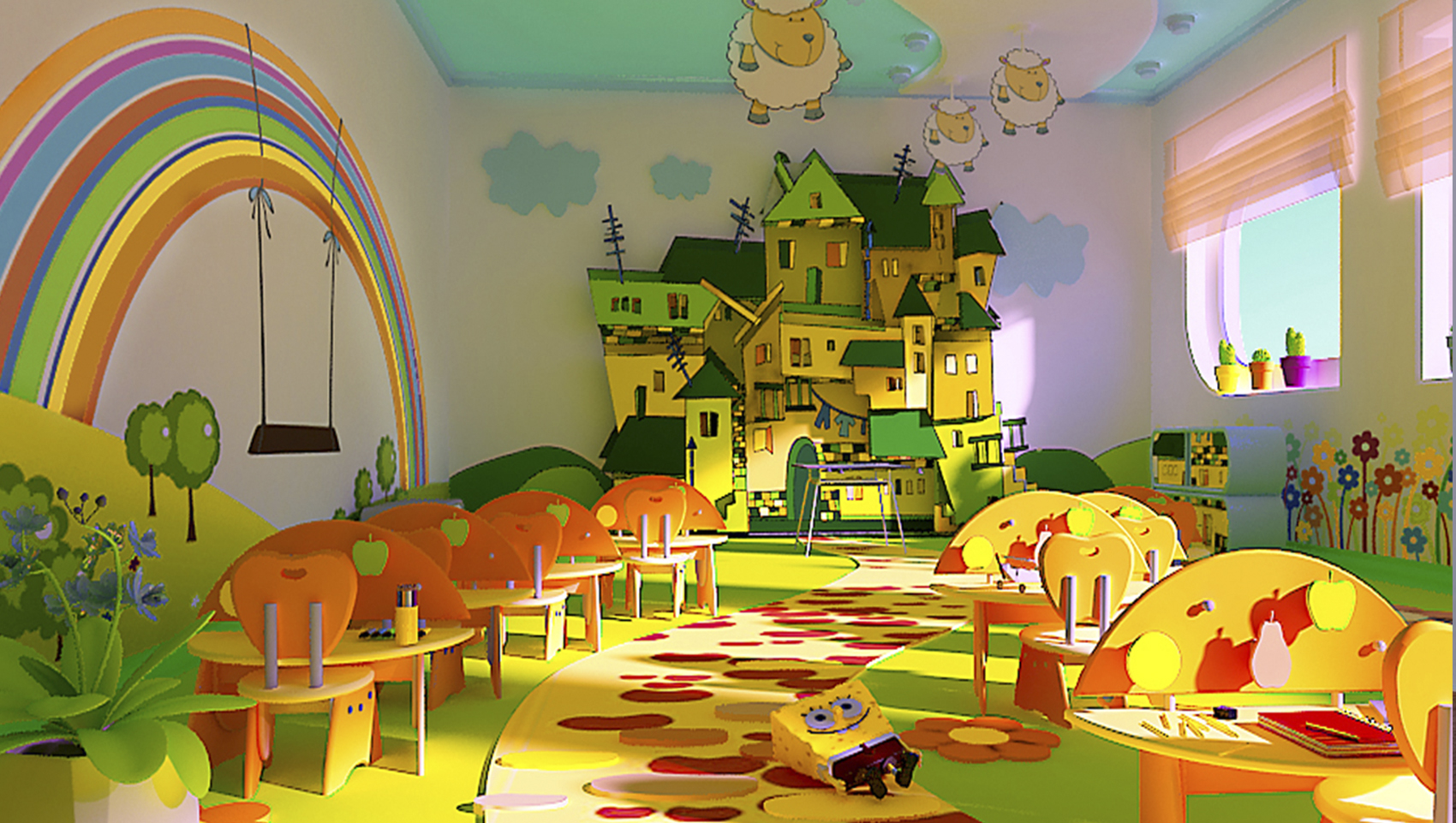 картинка план группы в детском саду.