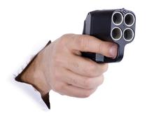 С пистолетом наголо: как полицейский на кемеровском бульваре стрелял
