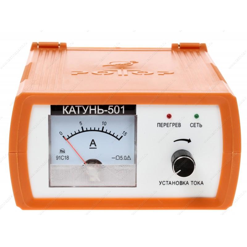 электрическая схема зарядного устройства Катунь 510