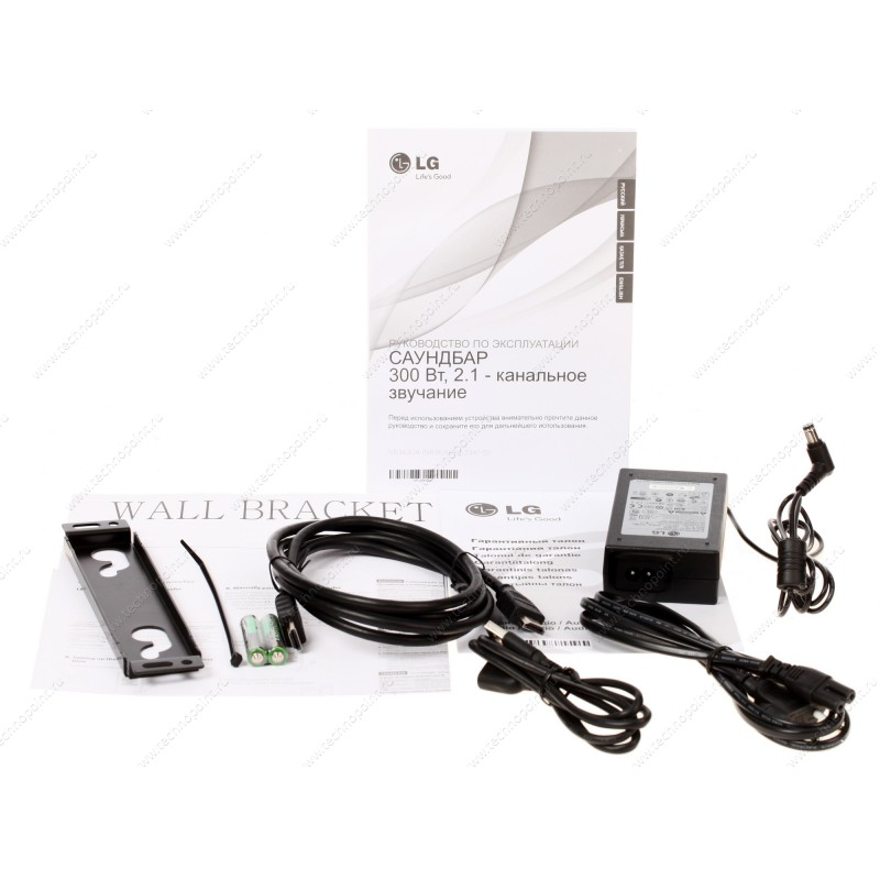 Звуковая панель LG NB363 A черный – купить LG - DNS