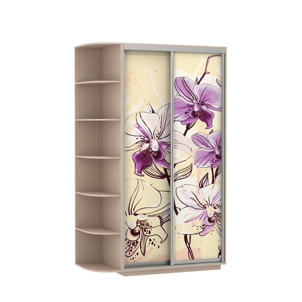 Шкаф-купе Цветы - корпусные Галерея по мебели на заказ и 36