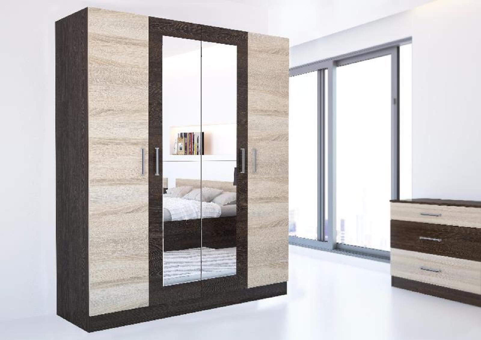 Купить шкаф 4-х дверный уют 1 (1600х450хh1900) в крыму недор.