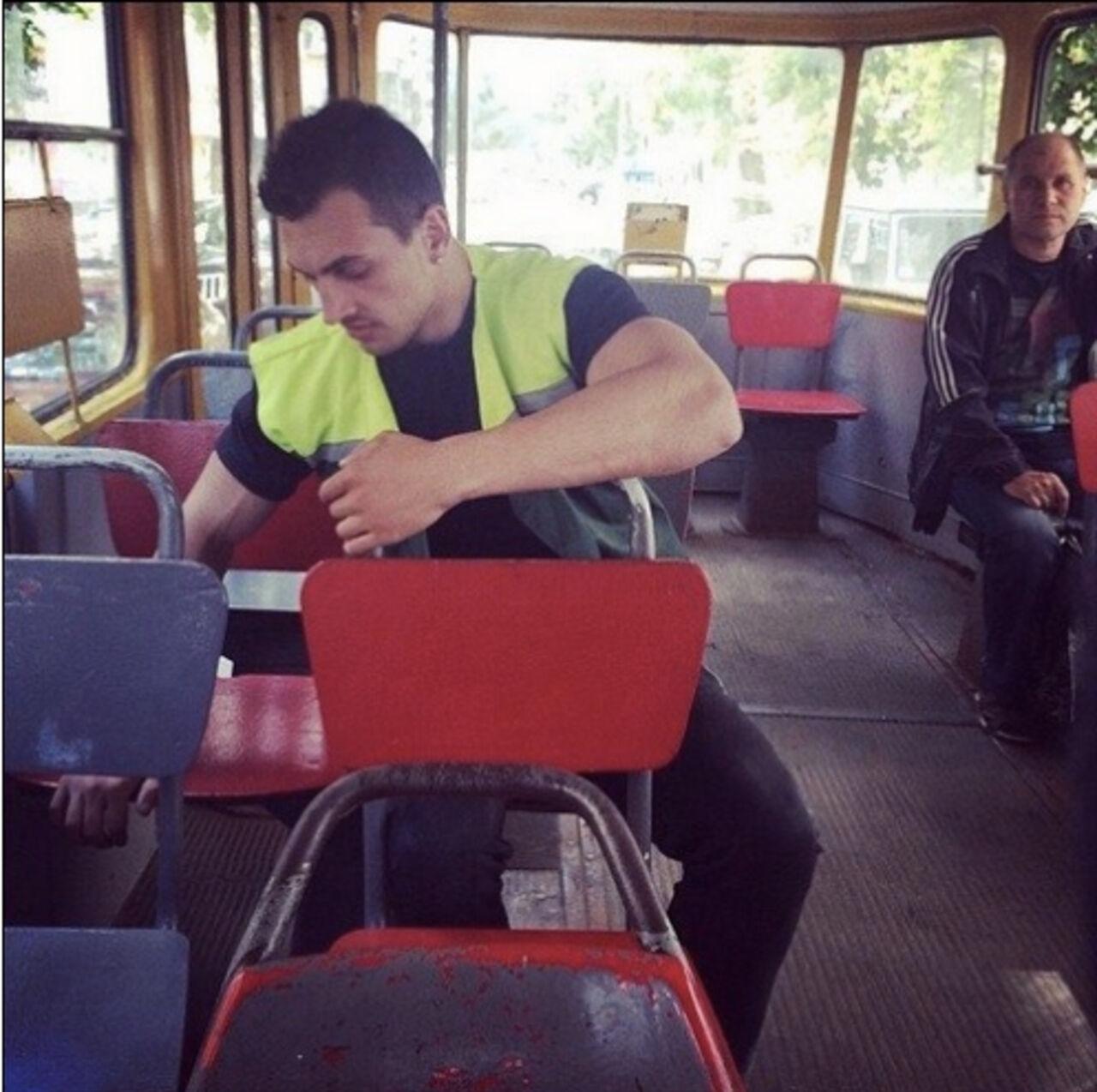 Секс на трамвай