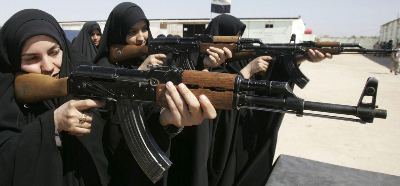 Террористки ИГИЛ из Азербайджана