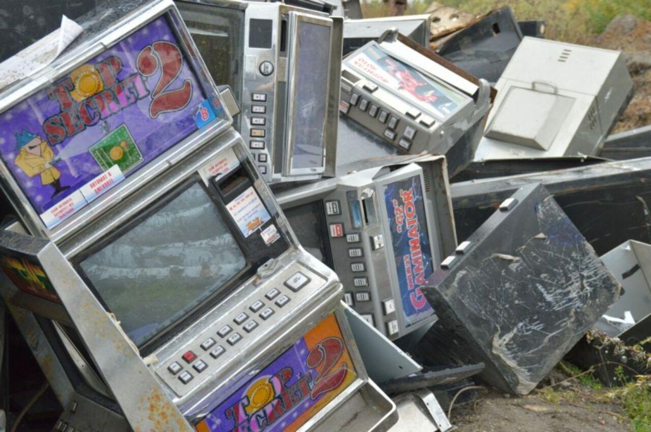 игровые автоматы с техникой