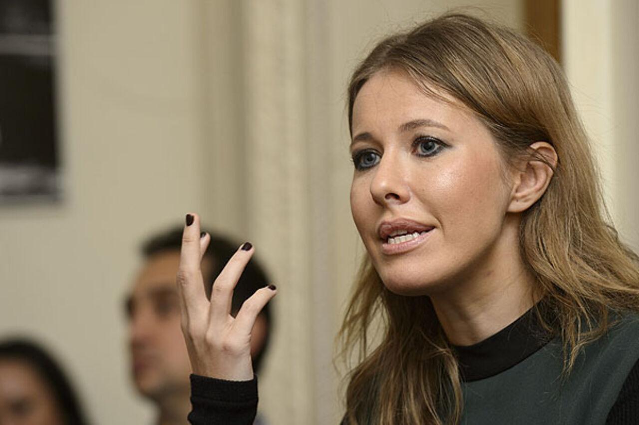 Ксения Собчак сорвалась на журналистах