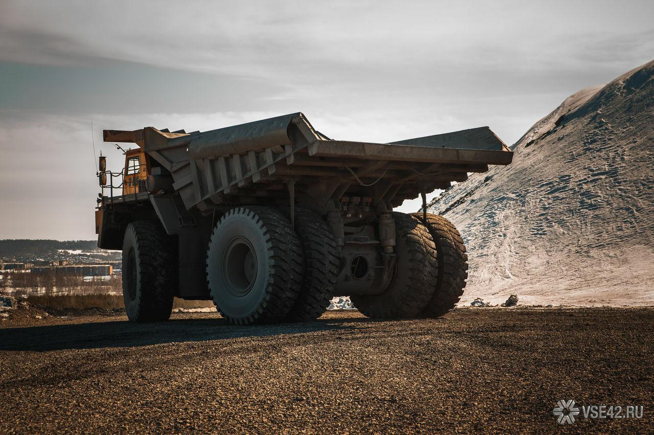 схема добыча угля