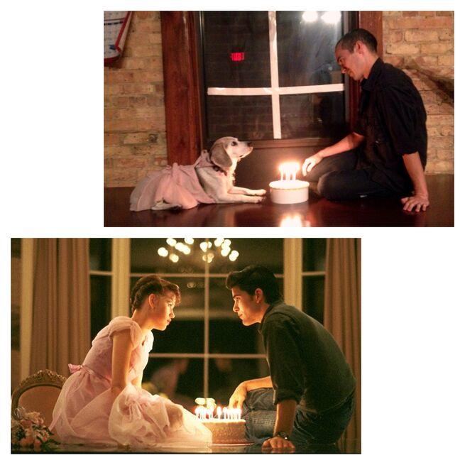 Романтические кадры